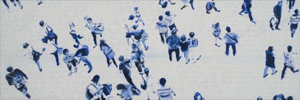 web_Allez les Bleus oel 40x120
