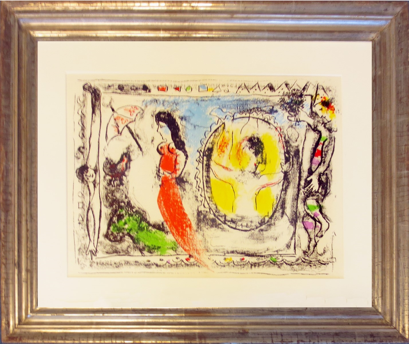ZIRKUSSZENE – BEHIND THE LOOKING GLASS</br><h4>MARC CHAGALL</h4>